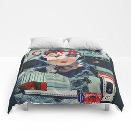 Cool girl Comforters