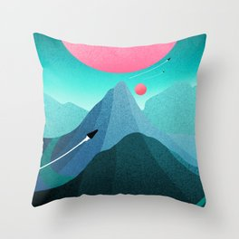 A new home Throw Pillow