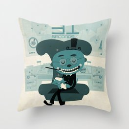 I've been waiting for you, Mr. Bond Throw Pillow