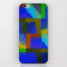 Colorful Truth. Blue. iPhone & iPod Skin