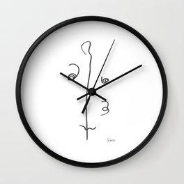 Demeter Moji d20 3-2 w Wall Clock