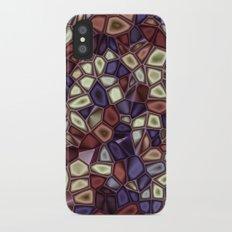 Fractal Gems 01 - Fall Vibrant Slim Case iPhone X