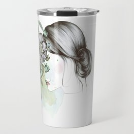 Being blind from beauty Travel Mug