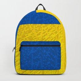 Extruded flag of Ukraine Backpack