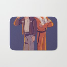 Latinos in Space! Bath Mat