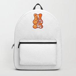 Orange Gummy Bear Anatomy Backpack