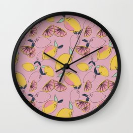 Joy (Pink) Wall Clock
