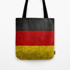 German National flag - Vintage retro patina Tote Bag