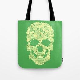Clip Art Skull Tote Bag