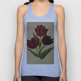 Arendsen, Arentine H. (1836-1915) - Haarlem's Flora 1872 - Single Early Tulips 3 Unisex Tank Top