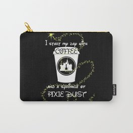 Coffee and Pixie Dust Carry-All Pouch