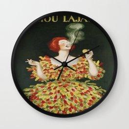 Vintage poster - Cachou Lajaunie Wall Clock
