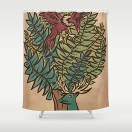 The Surface Guardians Shower Curtain