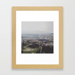 Ancient Modernity Framed Art Print