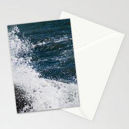 Onomatopoeia - Waves crashing Stationery Cards