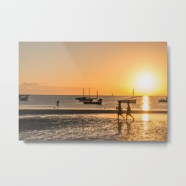 Morning in Vilanculos Metal Print