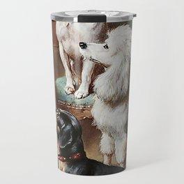 Christmas Dogs Travel Mug
