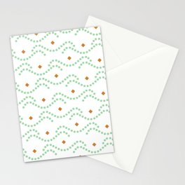 Vintage pattern Stationery Cards
