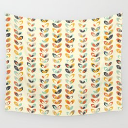 Retro seasons 01, Summer day Wall Tapestry
