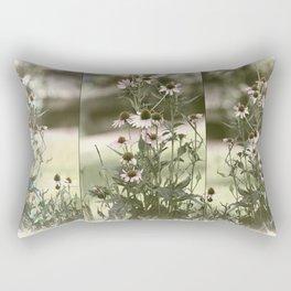 Faded Photographs Rectangular Pillow