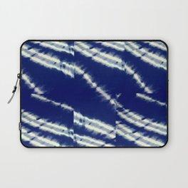 blue tie dye Laptop Sleeve