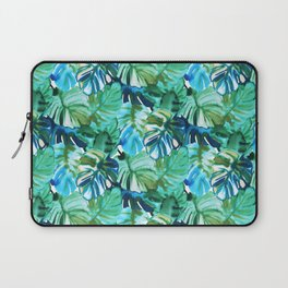 Palm Leaf Green Laptop Sleeve