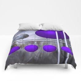 violet decoration Comforters