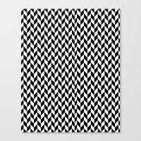 herringbone Canvas Prints featuring Herringbone. by ∞ ♡ ☮