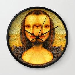 Mona Replicating Wall Clock