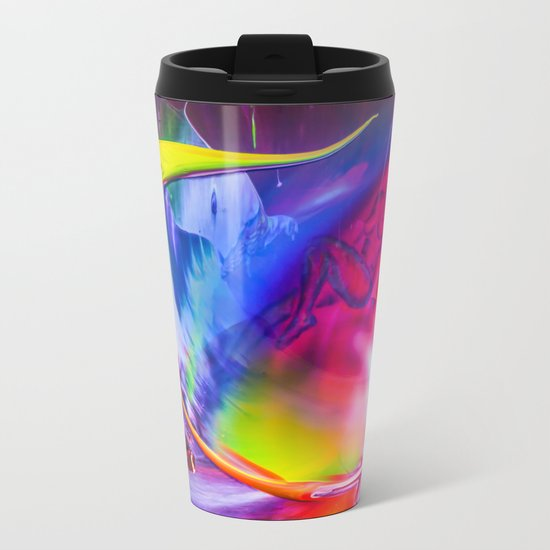 Relaxed into the weekend Metal Travel Mug
