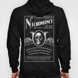 Faux School of Necromancy Recruitment Poster Hoody