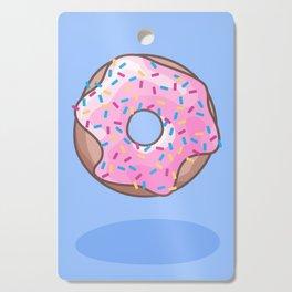 Pink Strawberry Donut Cutting Board