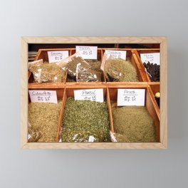 Spices in Old Town Nice Framed Mini Art Print