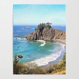 coastal overlook Poster