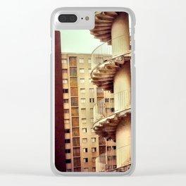Niemeyer. Saö Paùlo. Clear iPhone Case