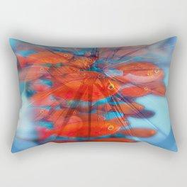 inside my head red fis Rectangular Pillow