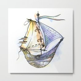 Dream Boat Metal Print