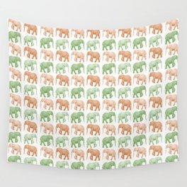Little Elephants Wall Tapestry