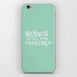 Mercy Morning x Mint iPhone Skin