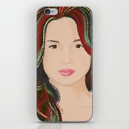 never lack passion iPhone Skin