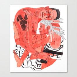 Ooh I Love My Ugly Boy Canvas Print