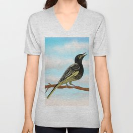 The Regent Honeyeater - Australian Precious Bird Unisex V-Neck