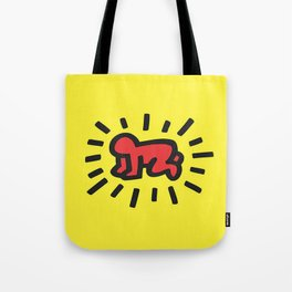 Inspired to Keith Haring Tote Bag
