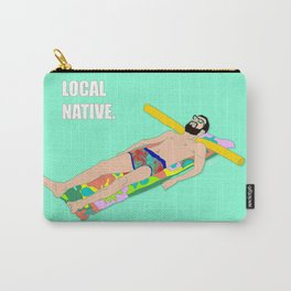 Local Native - Music Inspired Fan Cliche Digital Art Carry-All Pouch