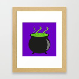 The Witch's Cauldron I Framed Art Print