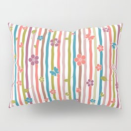 Colorful Stripes Spring Impromptu Collection Pillow Sham