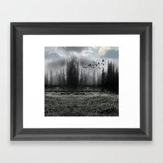 mystic forest  Framed Art Print