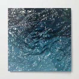 Texture #7 Water Metal Print