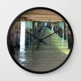 Under the Pier. Wall Clock