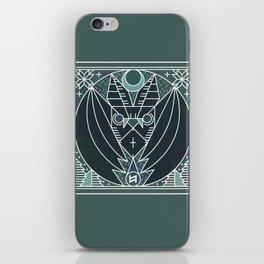 Bat from Transylvania iPhone Skin